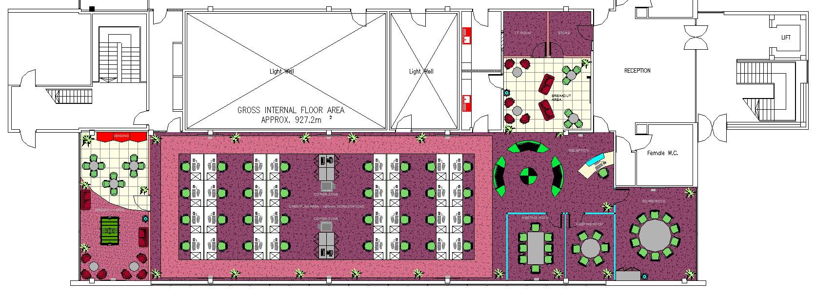 cad layout modular 4 office design cad office space layout